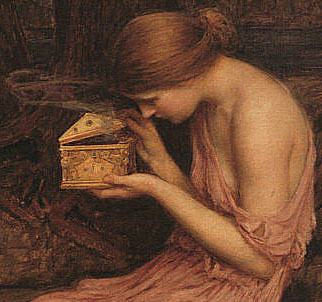 Pandora and her box: a parable of feminine sexuality.